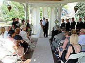 <span>A Lovely Wedding Ceremony at The Bandstand</span>